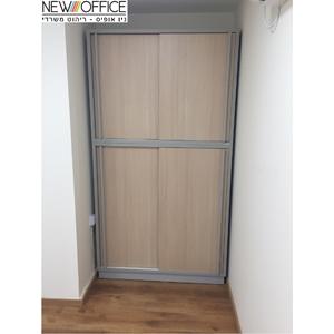 דלתות הזזה copy - ארונות משרדיים