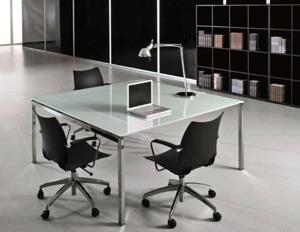 ישיבות זכוכית  דגם FLY - שולחנות משרדיים שולחן משרדי