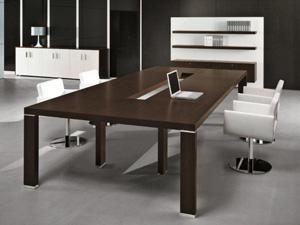 ישיבות  דגם CUOBIK - שולחנות משרדיים שולחן משרדי