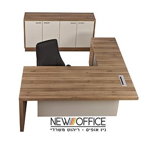 מנהלים דגם סלבדור copy - שולחנות משרדיים שולחן משרדי