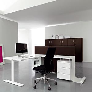 מנהלים דגם PIX copy - שולחנות משרדיים שולחן משרדי