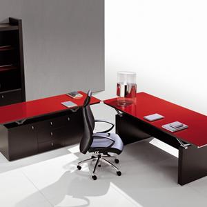 מנהלים זכוכית ABC copy - שולחנות משרדיים שולחן משרדי