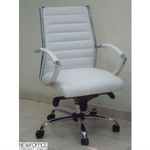 מנהלים  שי בינוני לבן 1 - כסאות מנהלים
