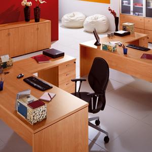 משרדי דגם הדר copy - שולחנות משרדיים שולחן משרדי