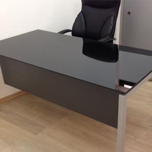 עבודה דגם סטאר זכוכית copy - שולחנות משרדיים שולחן משרדי