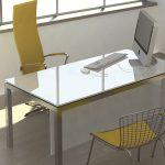 שולחן מנהלים מאסטר זכוכית