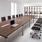 שולחן ישיבות דגם סטודיו 150x150 - ריהוט משרדי