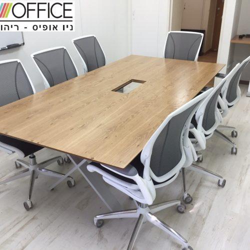 שולחן ישיבות דגם וויקס 500x500 - שולחנות לחדר ישיבות
