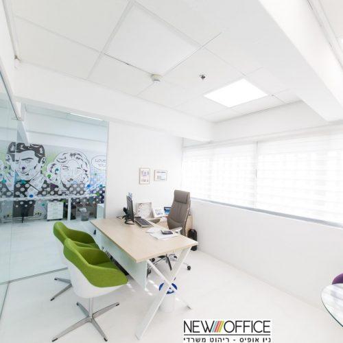 1WIX לבן 500x500 - שולחנות משרדיים שולחן משרדי